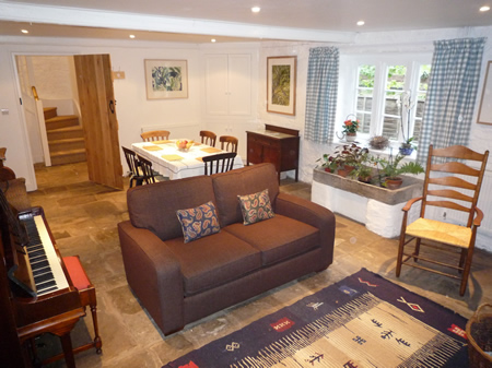 The old barn at Trymwood Self Catering - Bristol - Dining Room and Parlour